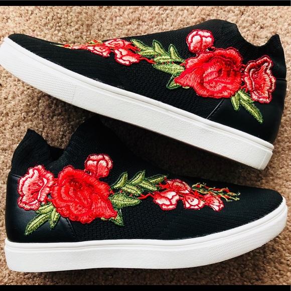 Shoes - Steve Madden Jsly-p knit sock sneakers